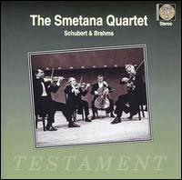 The Smetana Quartet Perform Schubert & Brahms - Milos Sadlo (cello); Smetana Quartet