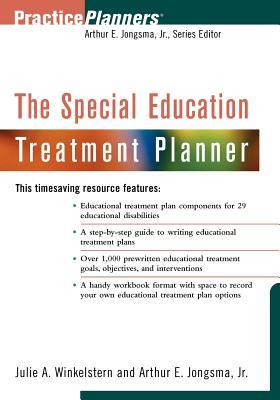 The Special Education Treatment Planner - Winkelstern, Julie a, and Jongsma, Arthur E