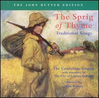 The Spring of Thyme: Traditional Songs - Christopher Hooker (oboe); David Rix (clarinet); Duke Dobing (flute); Rachel Masters (harp);...