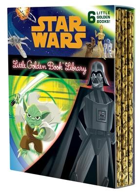 The Star Wars Little Golden Book Library - Various, and Golden Books (Illustrator)