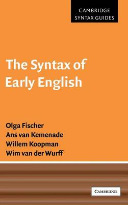 The Syntax of Early English - Fischer, Olga