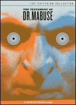 The Testament of Dr. Mabuse [2 Discs] [Criterion Collection] - Fritz Lang
