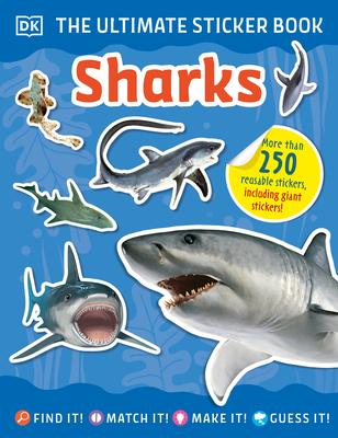 The Ultimate Sticker Book Sharks - DK