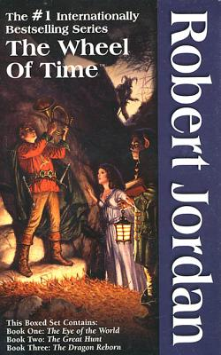 The Wheel of Time, Boxed Set I, Books 1-3: The Eye of the World, the Great Hunt, the Dragon Reborn - Jordan, Robert, and Jordan