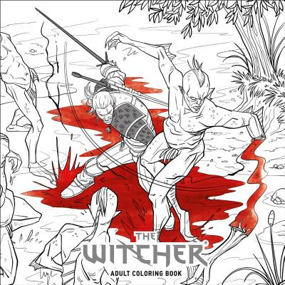 The Witcher Adult Coloring Book - CD Projekt Red