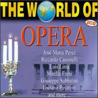 The World of Opera - Agostino Ferrin (bass); Arrigo Pola (tenor); Biserka Cvejic (mezzo-soprano); Biserka Cvejic (alto);...