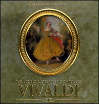 The World's Greatest Composers: Vivaldi [Collector's Edition Music Tin] - Angelica May (cello); Conrad von der Goltz Chamber Orchestra (chamber ensemble); Fritz Neumeyer (harpsichord);...