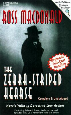 The Zebra-Striped Hearse - MacDonald, Ross, and Yulin, Harris (Read by), and Asner, Edward (Read by)