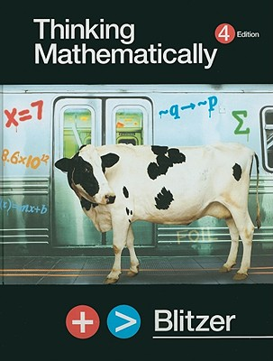 Thinking Mathematically - Blitzer, Robert F