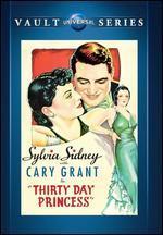 Thirty-Day Princess