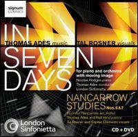 Thomas Adès: In Seven Days; Nancarrow Studies Nos. 6 & 7 - Nicolas Hodges (piano); Rolf Hind (piano); Thomas Adès (piano); London Sinfonietta; Thomas Adès (conductor)