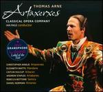 Thomas Arne: Artaxerxes