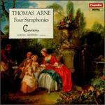 Thomas Augustine Arne: Four Symphonies
