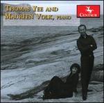 Thomas Yee and Maureen Volk, piano