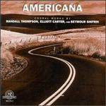Thompson: Americana/Carter: To Music/Shifrin: The Odes of Shang