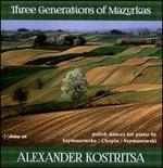 Three Generations of Mazurkas: Polish dances for Piano by Szymanowska, Chopin, Szymanowski