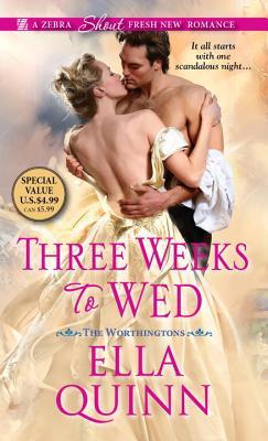 Three Weeks to Wed - Quinn, Ella