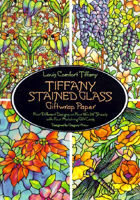 Tiffany Stained Glass Giftwrap Paper - Tiffany, Louis Comfort, and Mirow, Gregory (Designer)