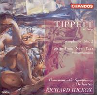 Tippett: Symphony No. 2; Suite from New Year - Alan Taylor (guitar); Kyle Horch (saxophone); Melanie Bush (saxophone); Steven Smith (guitar); Tim Holmes (saxophone);...
