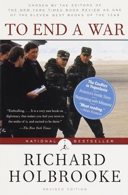 To End a War - Holbrooke, Richard