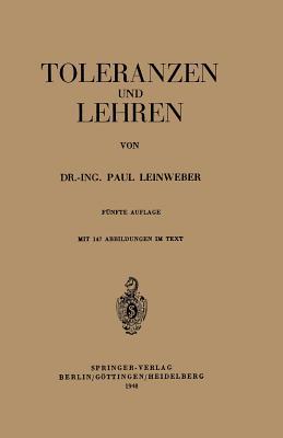 Toleranzen Und Lehren - Leinweber, Paul
