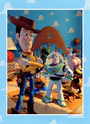 Toy Story the Art and Making of the Animated Film - Lasseter, John, and Daly, Steve