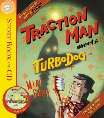 Traction Man Meets Turbodog - Grey, Mini