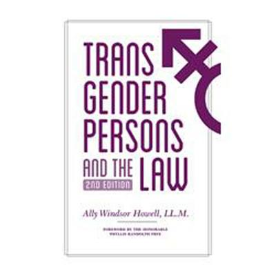 Transgender Persons and the Law - Howell, Ally Windsor