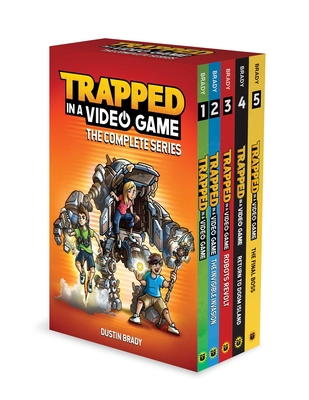 Trapped in a Video Game: The Complete Series - Brady, Dustin