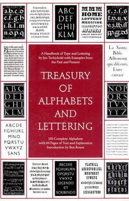 Treasury of Alphabets and Lettering - Tschichold, Jan
