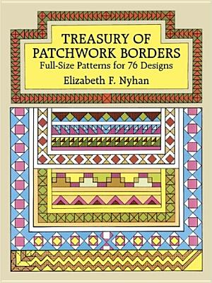Treasury of Patchwork Borders - Nyhan, Elizabeth F