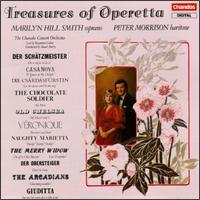 Treaures of Operetta - Marilyn Hill Smith (soprano); Peter Morrison (baritone); Chandos Concert Orchestra; Raymond Cohen (conductor)