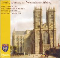 Trinity Sunday at Westminster Abbey - Ben Turner (alto); Ben Williamson (treble); Benjamin Gerrans (treble); David Martin (alto); Elliot Thompson (treble);...