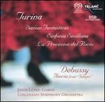 Turina: Danzas Fantasticas; Sinfonia Sevillana; Debussy: Iberia