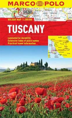 Tuscany Marco Polo Holiday Map - Marco Polo