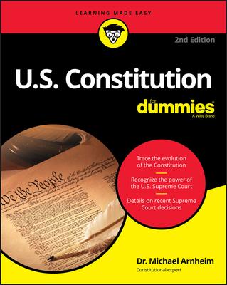 U.S. Constitution for Dummies - Arnheim, Michael
