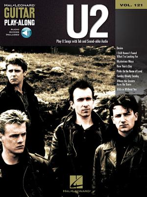 U2: Guitar Play-Along Volume 121 - U2