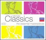 Ultimate Classics: The Essential Masterpieces - Barry Tuckwell (horn); Bruce Blyth (treble); Carlos Bonell (guitar); David Flood (organ); Elgar Howarth (trumpet); Erich Gruenberg (violin); Joan Sutherland (soprano); Kathleen Ferrier (contralto); Kenneth McKellar (tenor); Kiri Te Kanawa (soprano)