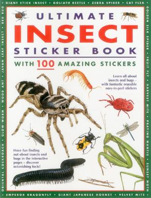 Ultimate Insect Sticker Book: With 100 Amazing Stickers - Armadillo (Creator)