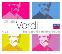 Ultimate Verdi: The Essential Masterpieces [Box Set] - Armando Gabba (vocals); Brigitte Fassbaender (vocals); Carlo Bergonzi (vocals); Carlo Siepi (vocals); Dora Carral (vocals);...