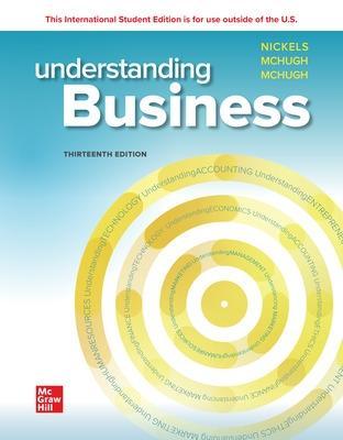 Understanding Business - Nickels, William, and McHugh, James, and McHugh, Susan