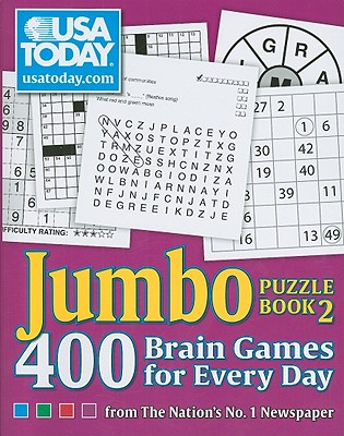 USA Today Jumbo Puzzle Book 2: 400 Brain Games for Every Day from the Nation's No. 1 Newspaper - Usa Today