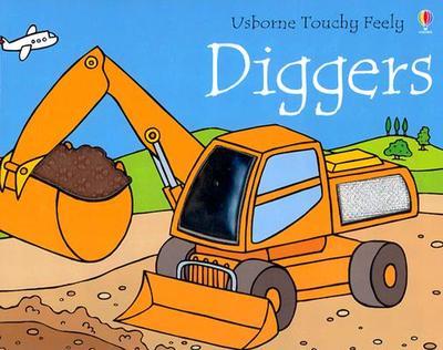 Usborne Touchy Feely Diggers - Watt, Fiona