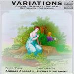Variations: Chopin; Schuber; Silcher...