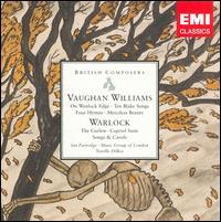 Vaughan Williams: On Wenlock EdgeTen Blake Songs; Four Hymns; Merciless Beauty; Warlock: The Curfew; Capriol Suite - Anthony Davis (organ); Christopher Wellington (viola); David Butt (flute); David Parkhouse (piano); Eileen Croxford (cello);...