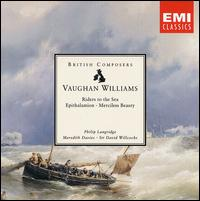 Vaughan Williams: Riders to the Sea; Epithalamion; Merciless Beauty - Andrew Watkinson (violin); Benjamin Luxon (baritone); David Waterman (cello); Gloria Jennings (contralto);...