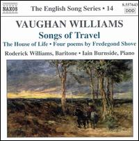 Vaughan Williams: Songs of Travel - Iain Burnside (piano); Roderick Williams (baritone)