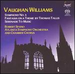 Vaughan Williams: Symphony No. 5; Fantasia on a Theme by Thomas Tallis