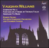 Vaughan Williams: Symphony No. 5; Fantasia on a Theme by Thomas Tallis - Cecylia Arzewski (violin); Christopher Rex (cello); David Arenz (violin); Reid Harris (viola);...