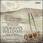 Vaughan Williams: The Lark Ascending; Fantasia on a Theme by Thomas Tallis